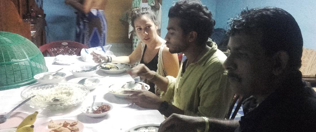 Dinner at Anupama's