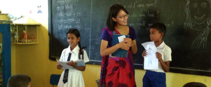 Nguyen Le Hoa at Ralapanawa Public School
