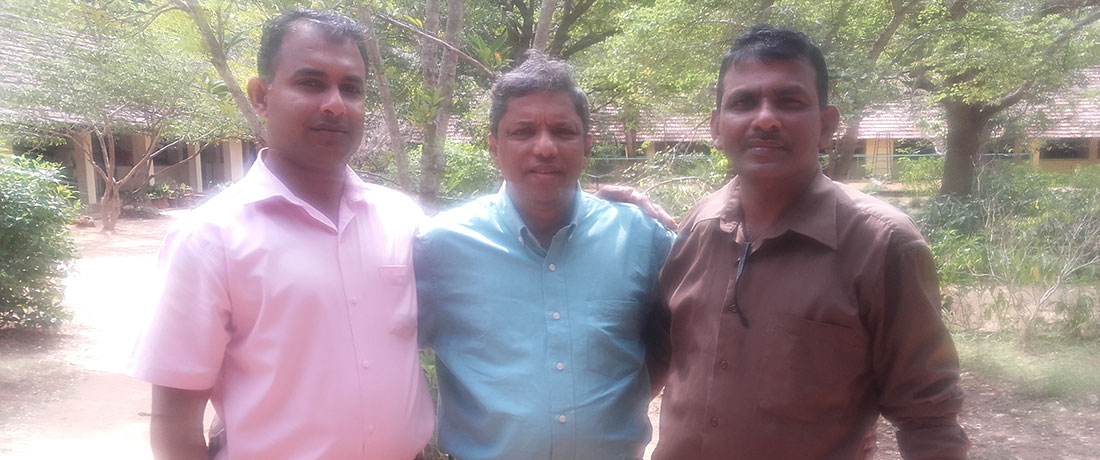 Mr. Pathmasiri Wanninayaka, Mr. Feizal Samath and Mr. Nanda Wanninayaka