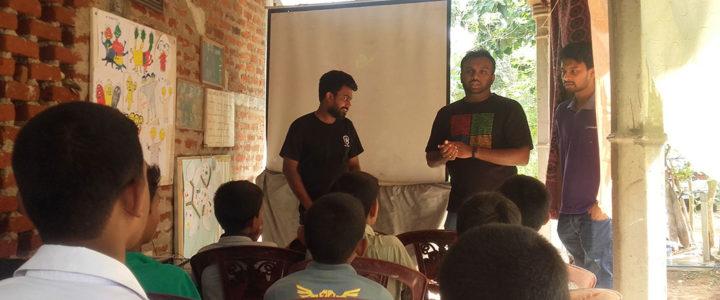 An IoT (Internet of Things) Workshop at Horizon Lanka by Coderdojo Sri Lanka