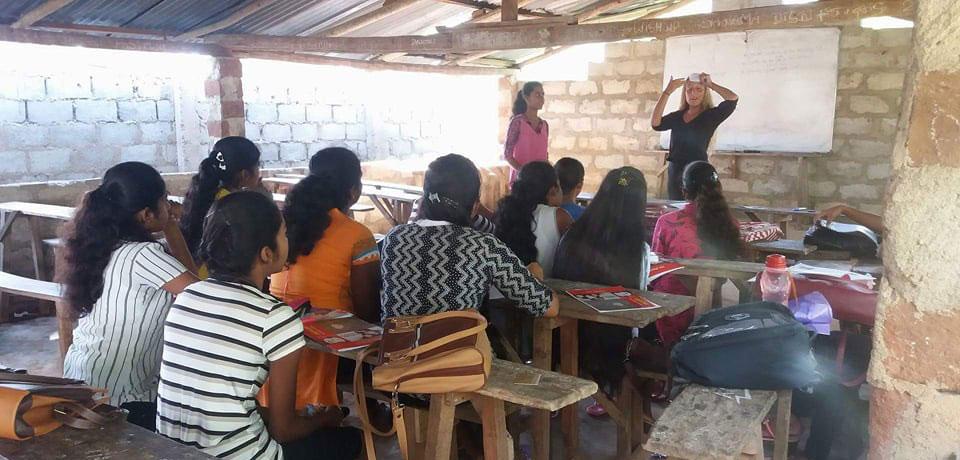 Lisanna Stevens at Horizon Academy, Ranpathvila