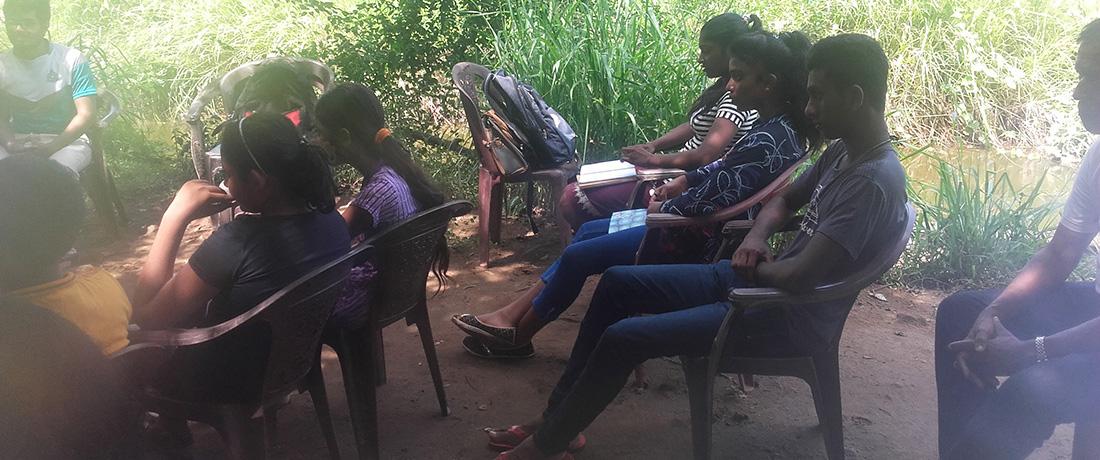 Students of Horizon Academies at the workshop in Horizon Academy - Anuradhapura
